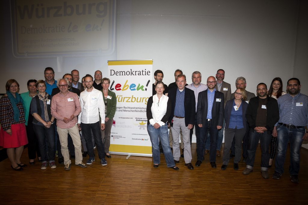 Begleitausschuss Demokratie leben! Würzburg