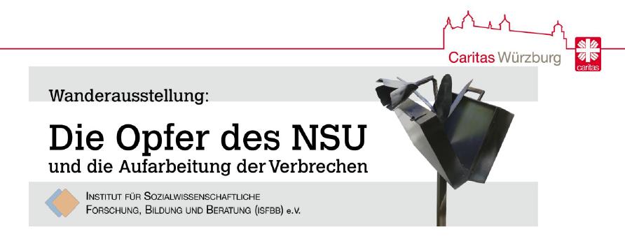 """youngcaritas Unterfranken: Ausstellungseröffnung """"Die Opfer des NSU und die Aufarbeitung der Verbrechen"""""""