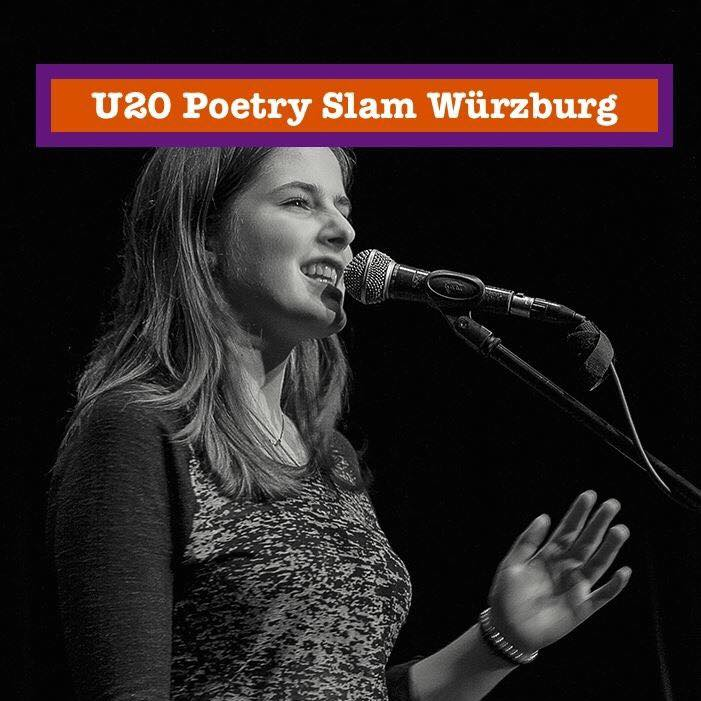 "Würzburg liest e. V.: ""U20 Poetry Slam Special mit Pauline Füg"""